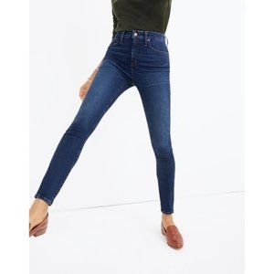 NWT Madewell Curvy High-Rise Skinny Jeans
